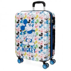 TROLLEY ABS 55 CM MICKEY COLORS
