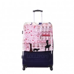 TROLLEY ABS 65 CM LOLLIPOPS AZUL