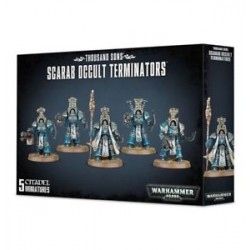 THOUSAND SONS SCARAB OCCULT TERMINATORS - WARHAMMER 40000