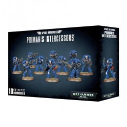 SPACE MARINEZ PRIMARIS INTERGESSORS 10 MINIATURES WARHAMMER 40,000