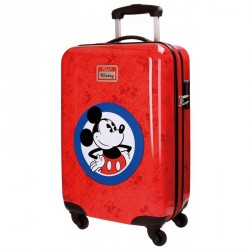 TROLLEY ABS 55 CM HELLO MICKEY ROJO 4 R.
