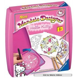 JUEGO MINI MANDALA HELLO KITTY