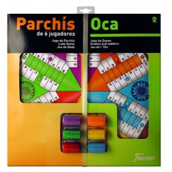 TABLERO FOURNIER PARCHIS/OCA